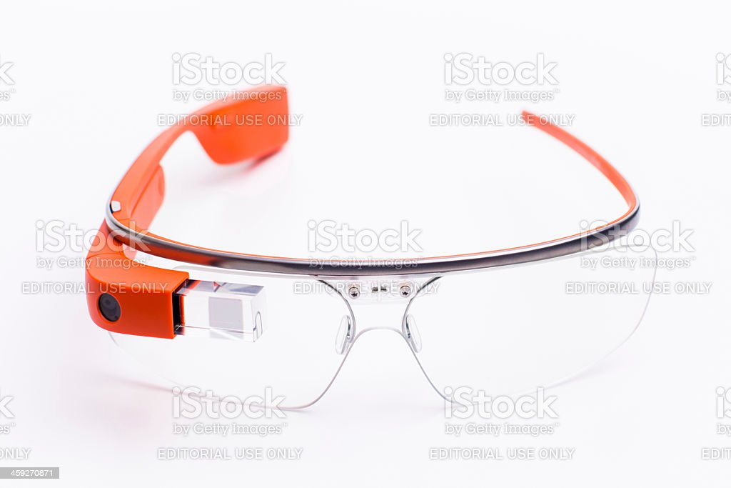 Google Glass royalty-free stock photo