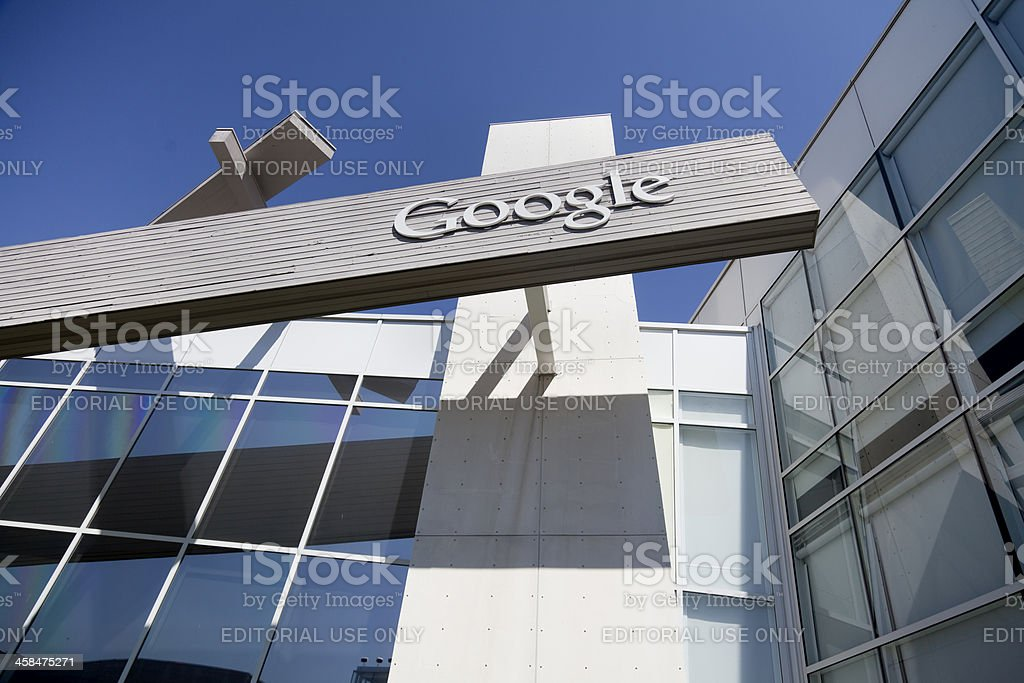 Google Headquarters stock photo