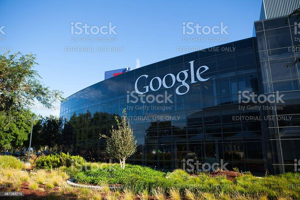 Google Headquarters stock photo