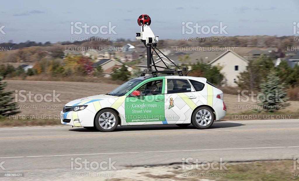 Google Maps Street View Car stock photo