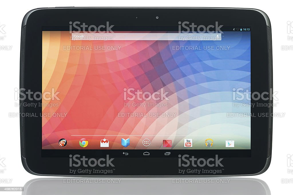 Google Nexus 10 stock photo