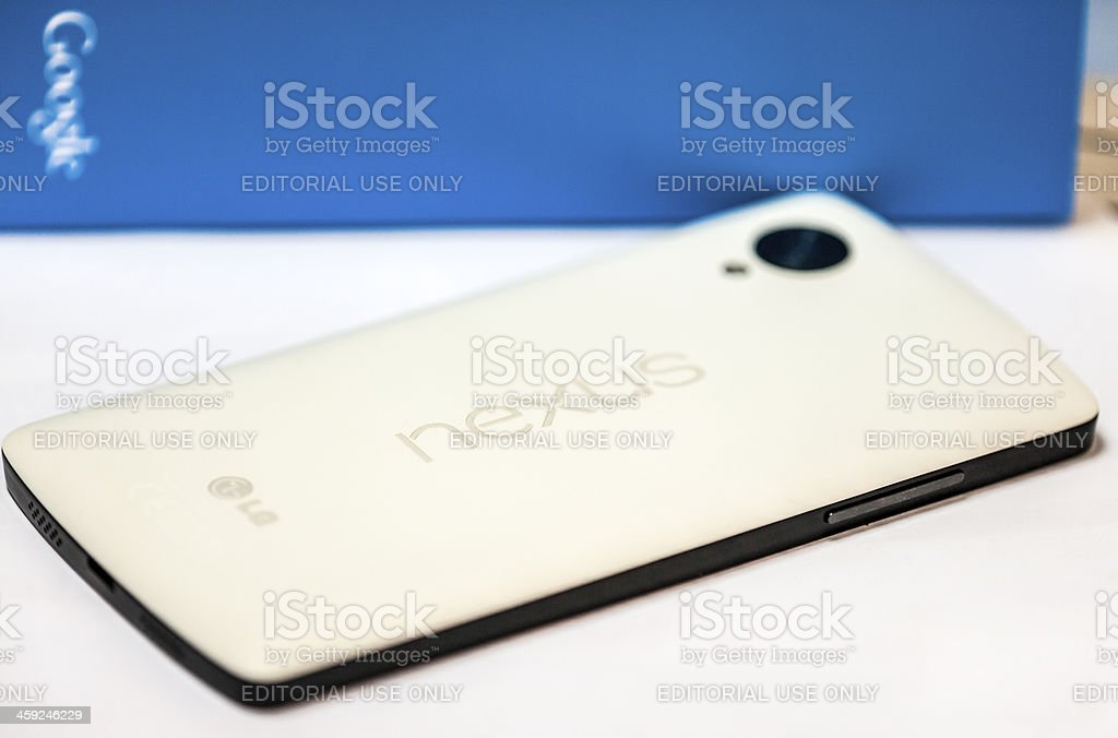 Google NEXUS 5 by LG stock photo
