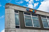 Google Office Building in Seattle, Washington's Fremont Neighborhood