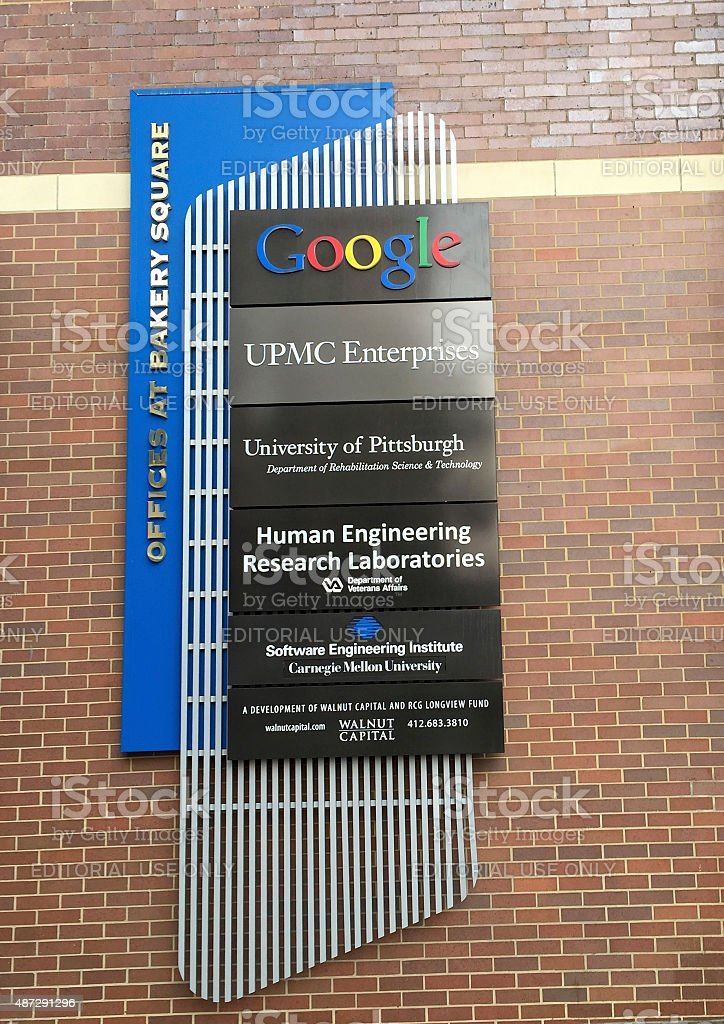 Google Offices at Bakery Square in Pittsbugh stock photo