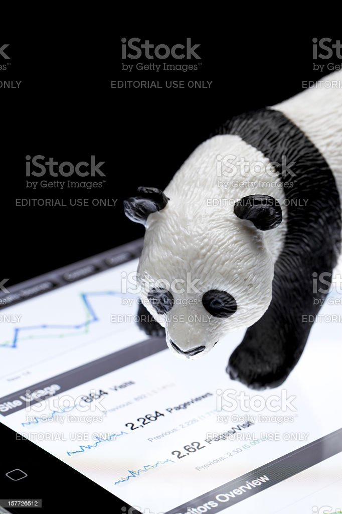 Google Panda royalty-free stock photo
