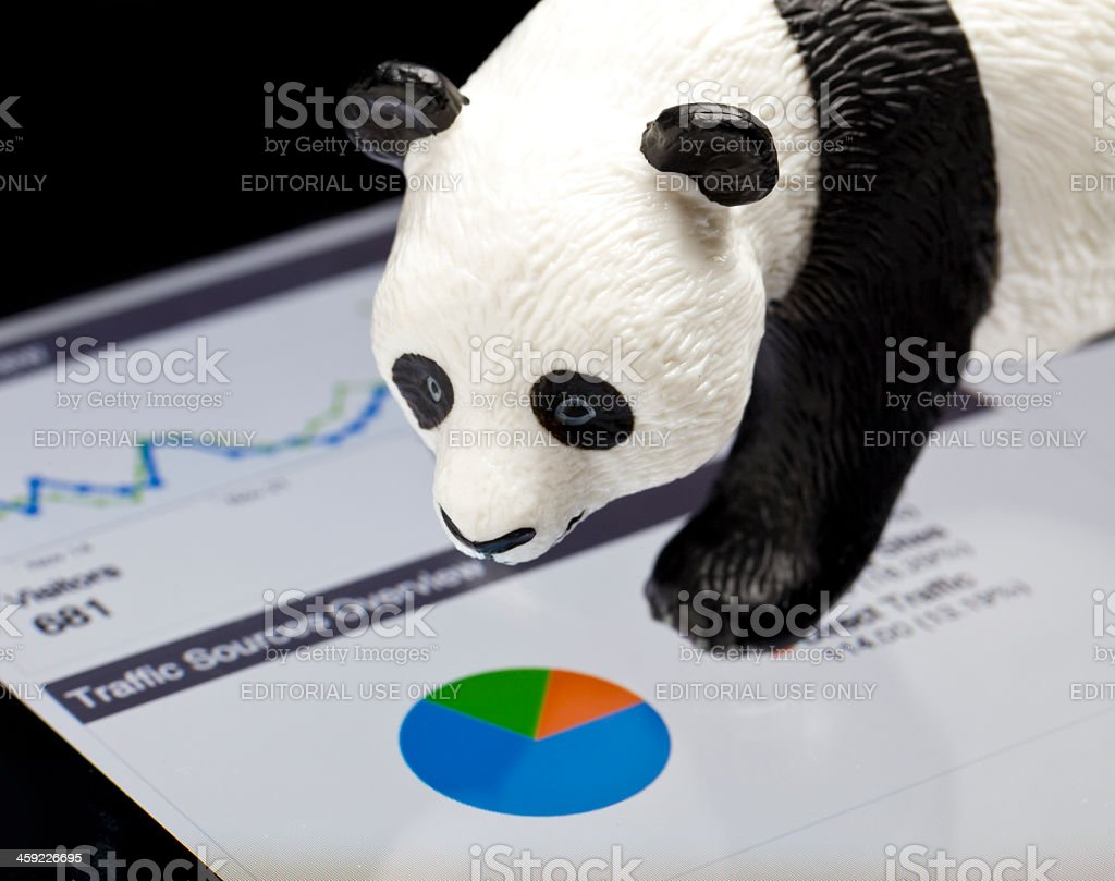 Google Panda royalty-free stock photo