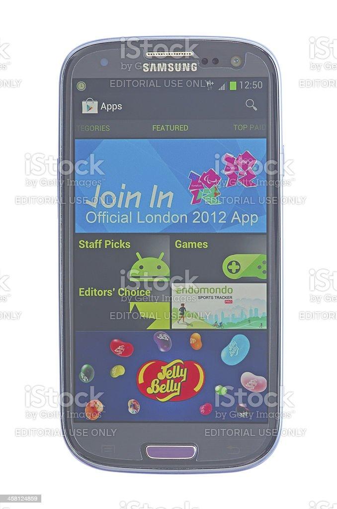Google Play Store stock photo