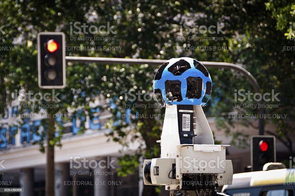 Google Street View Camera stock photo