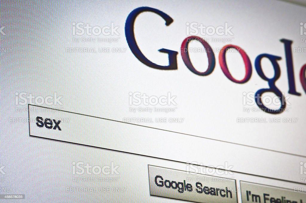 Google web search stock photo