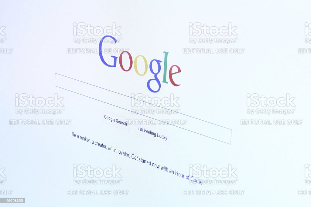 Google website stock photo