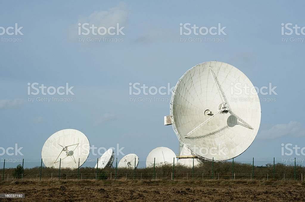Goonhilly Earth Station royalty-free stock photo