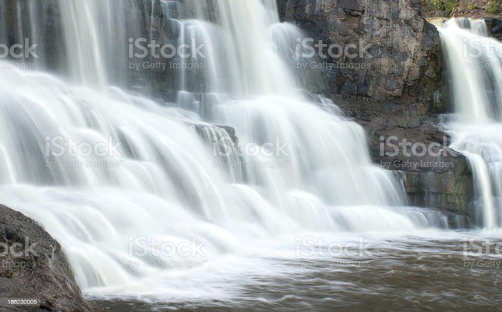 Gooseberry Fall,  Minnesota stock photo