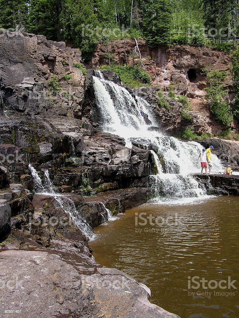 Gooseberry Falls State Park-Request stock photo