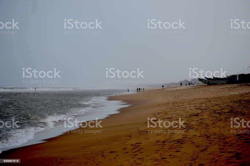 Gopalpur Sea beach stock photo