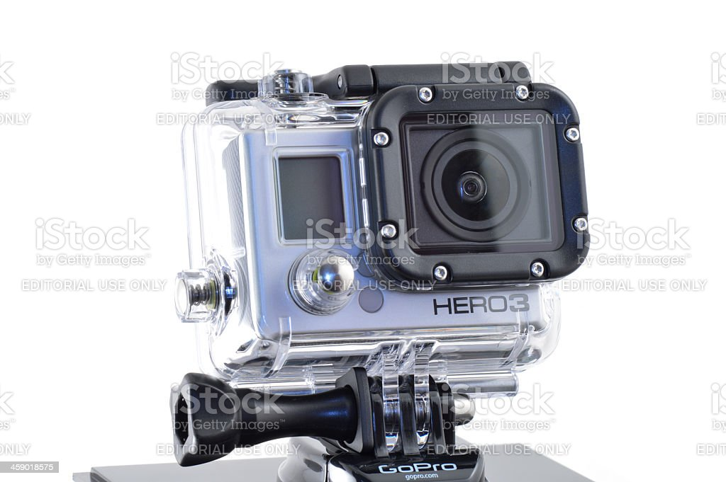 GoPro HERO 3 Camera royalty-free stock photo
