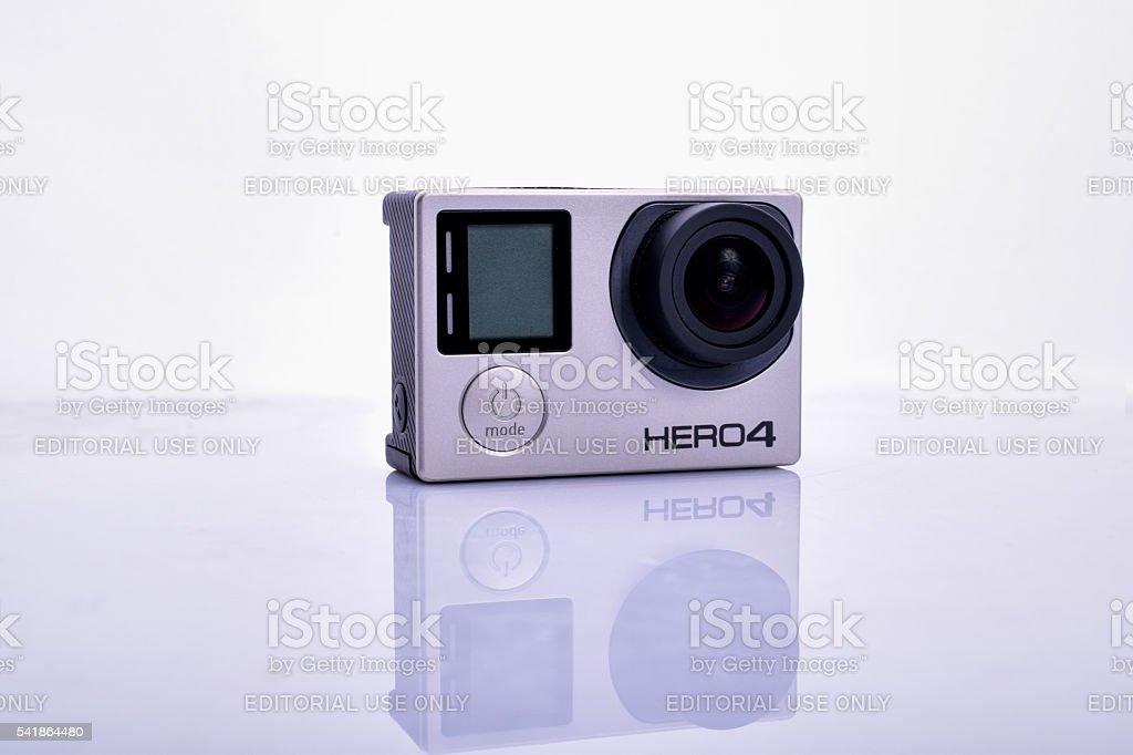 GoPro Hero 4 Camera stock photo