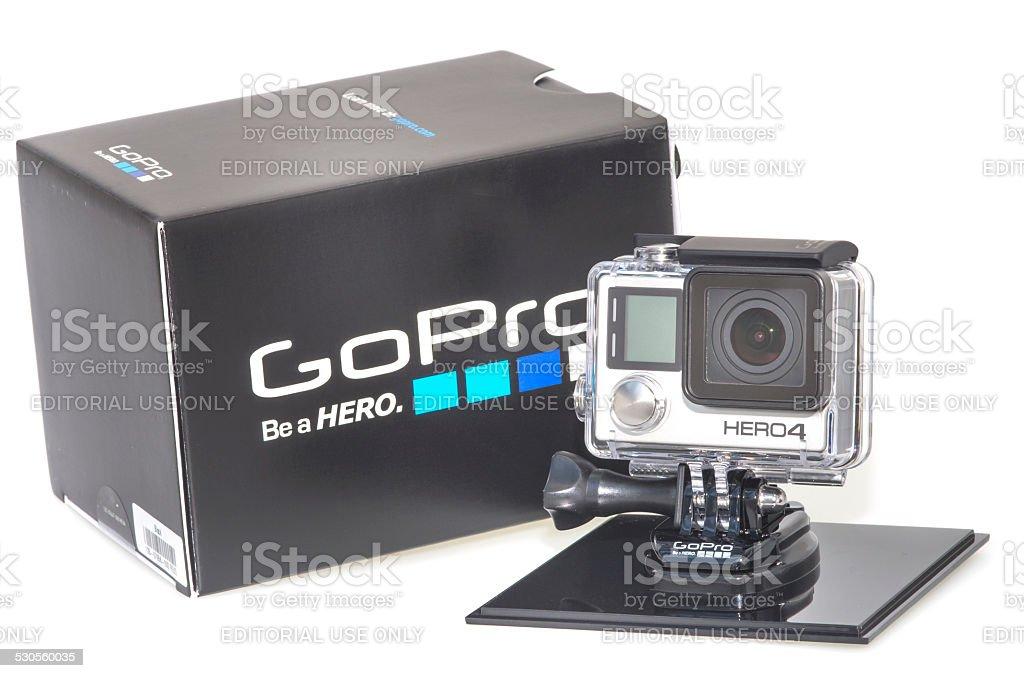 GoPro Hero 4 stock photo