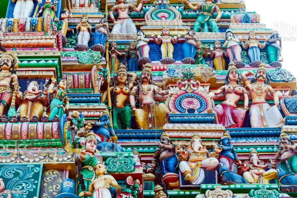 gopuram sri lanka stock photo
