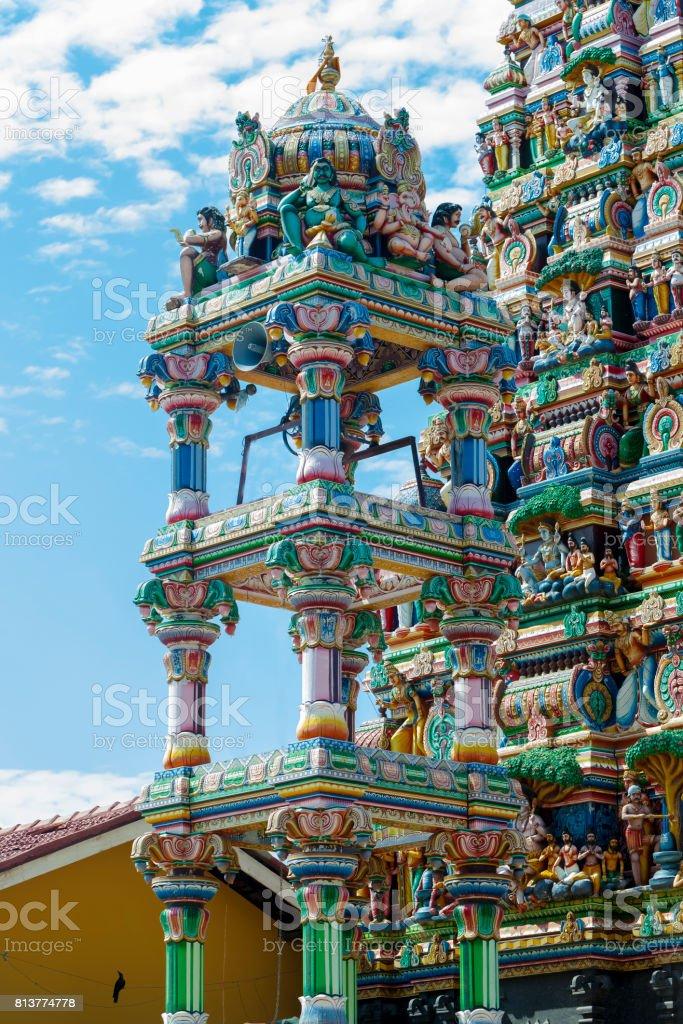 Gopuram Temple in Batikaloa Sri Lanka stock photo