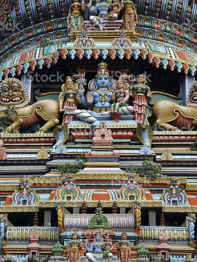 Gopuram,Madurai city,Tamil Nadu,India. royalty-free stock photo