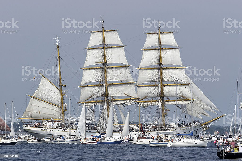 Gorch Fock stock photo