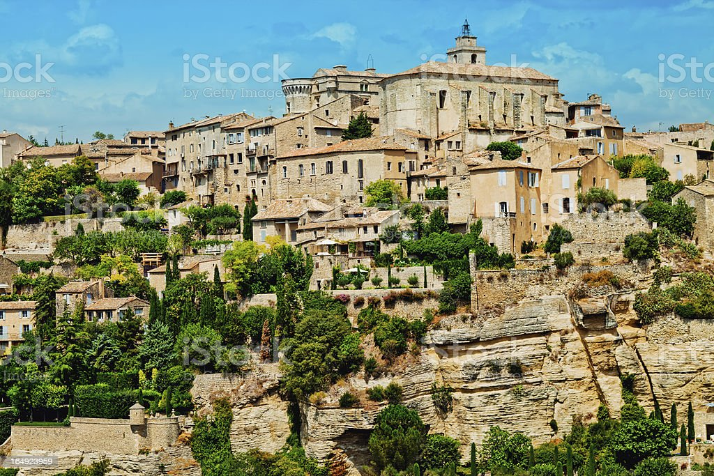Gordes in Provence royalty-free stock photo
