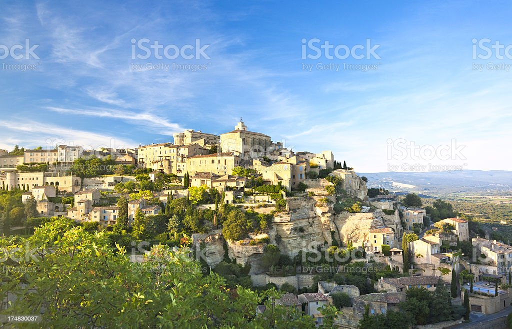 Gordes, Provence, France royalty-free stock photo
