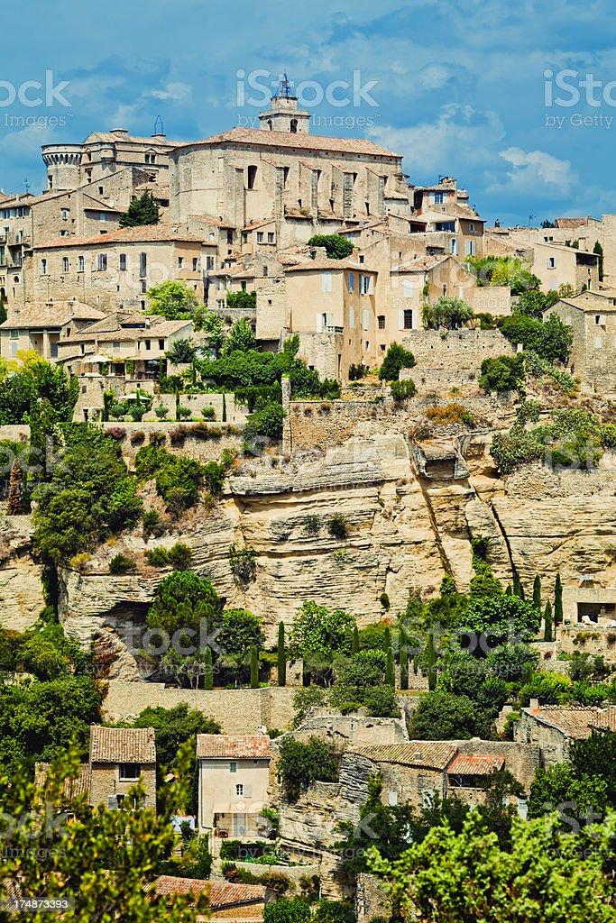 Gordes village royalty-free stock photo