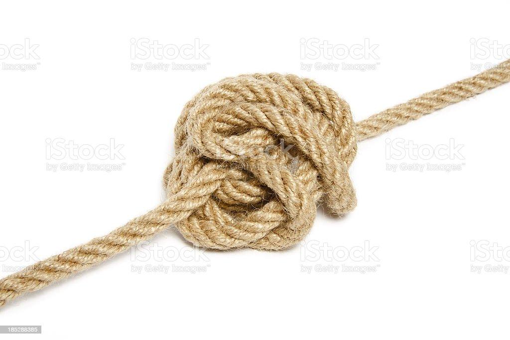 Gordian knot royalty-free stock photo
