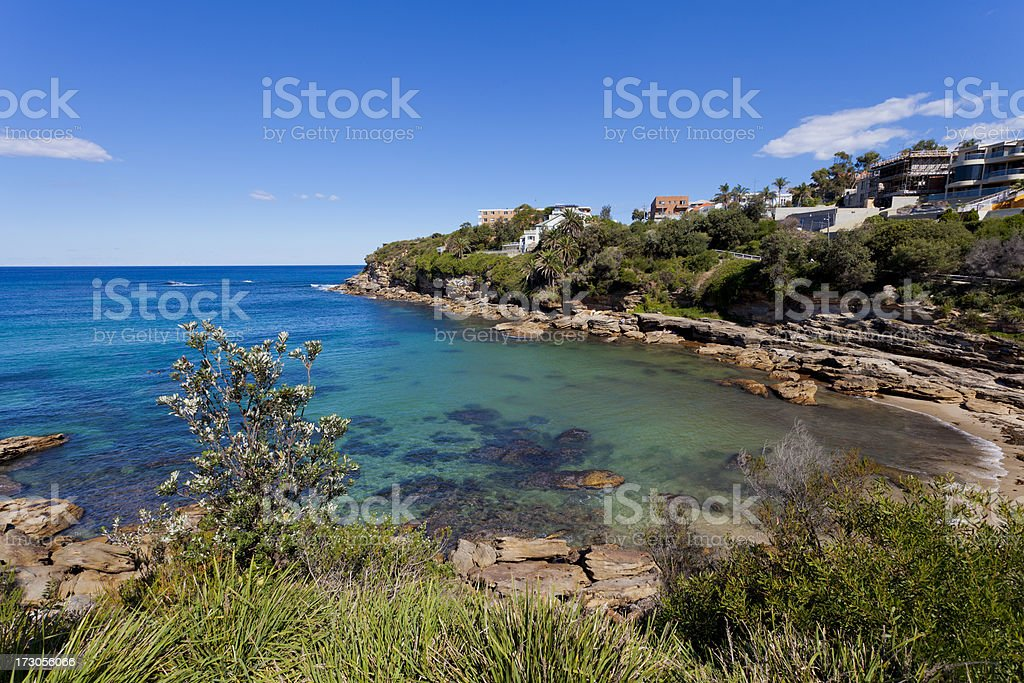 Gordons Bay,  Sydney, Australia stock photo
