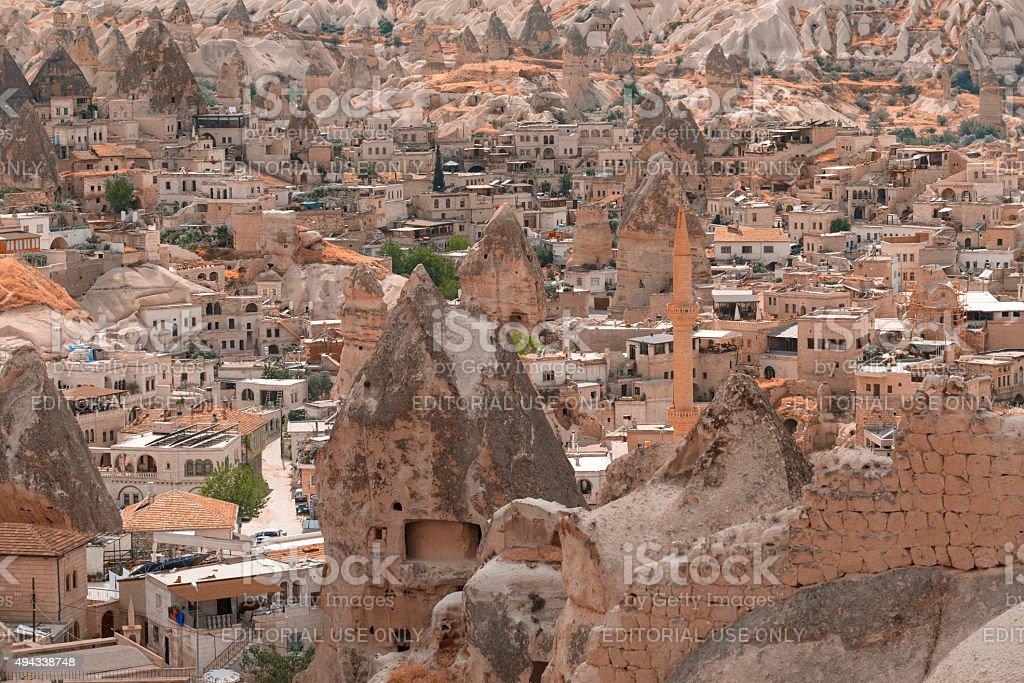 Goreme, cappadocia stock photo