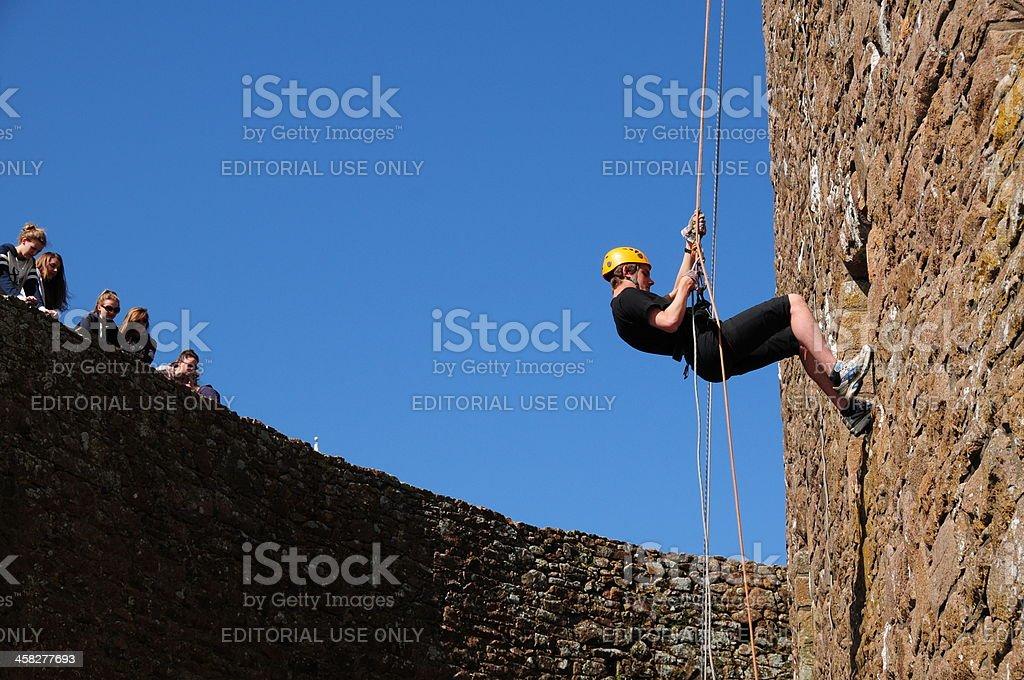 Gorey Castle, Jersey. stock photo