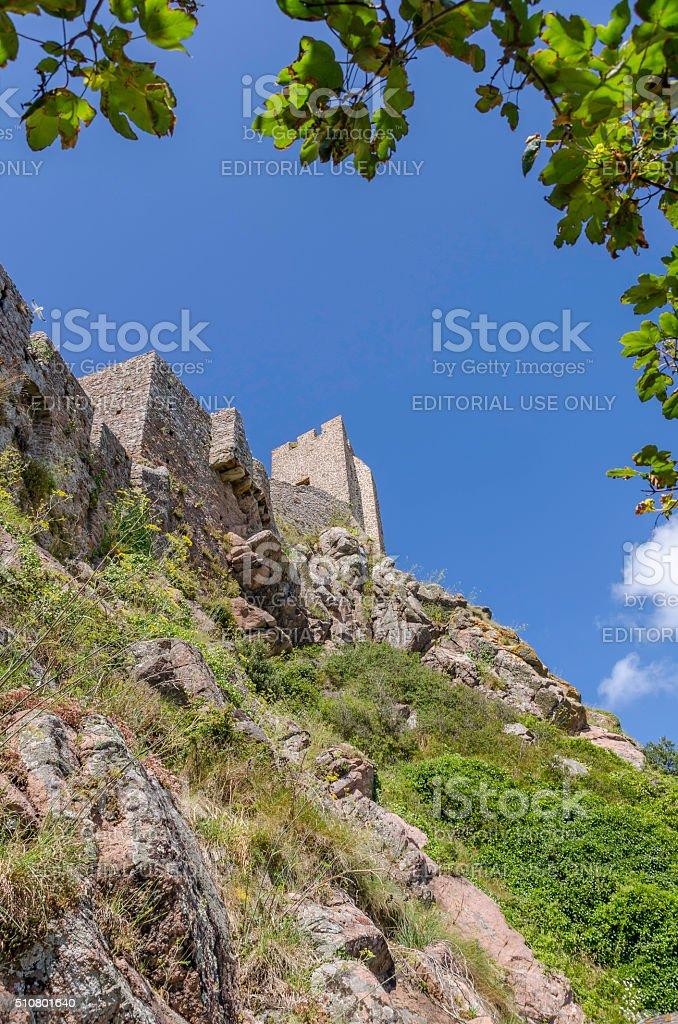 Gorey Castle stock photo