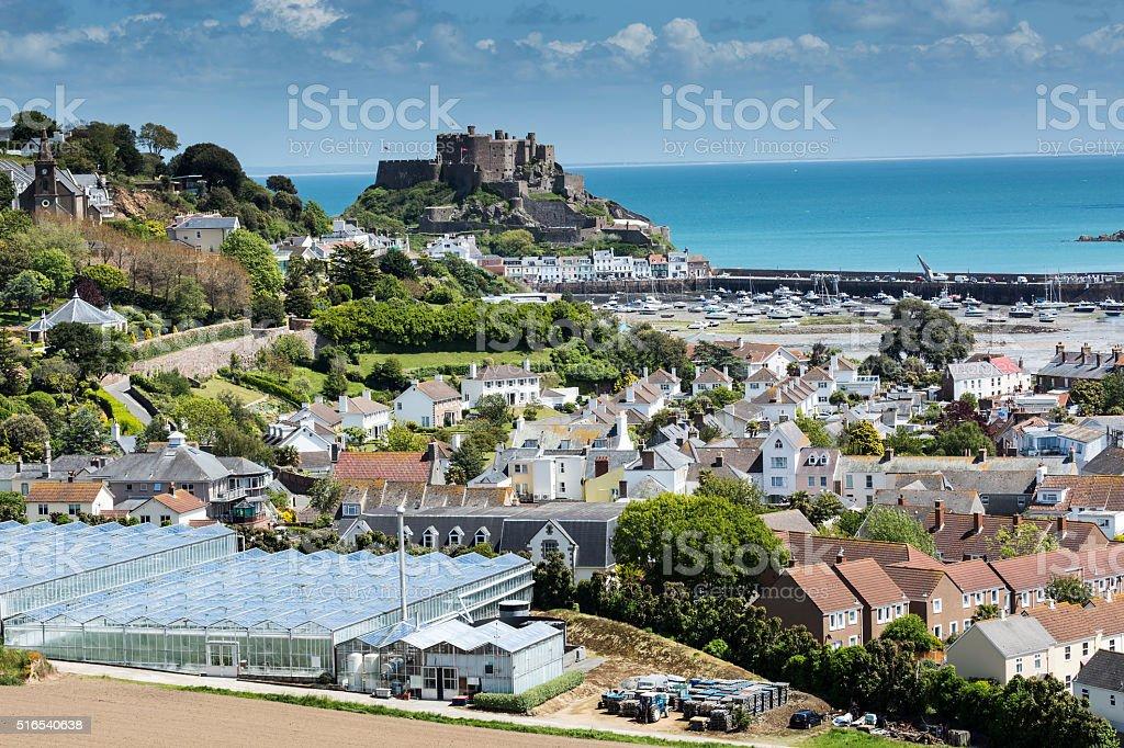 Gorey, Jersey, UK stock photo