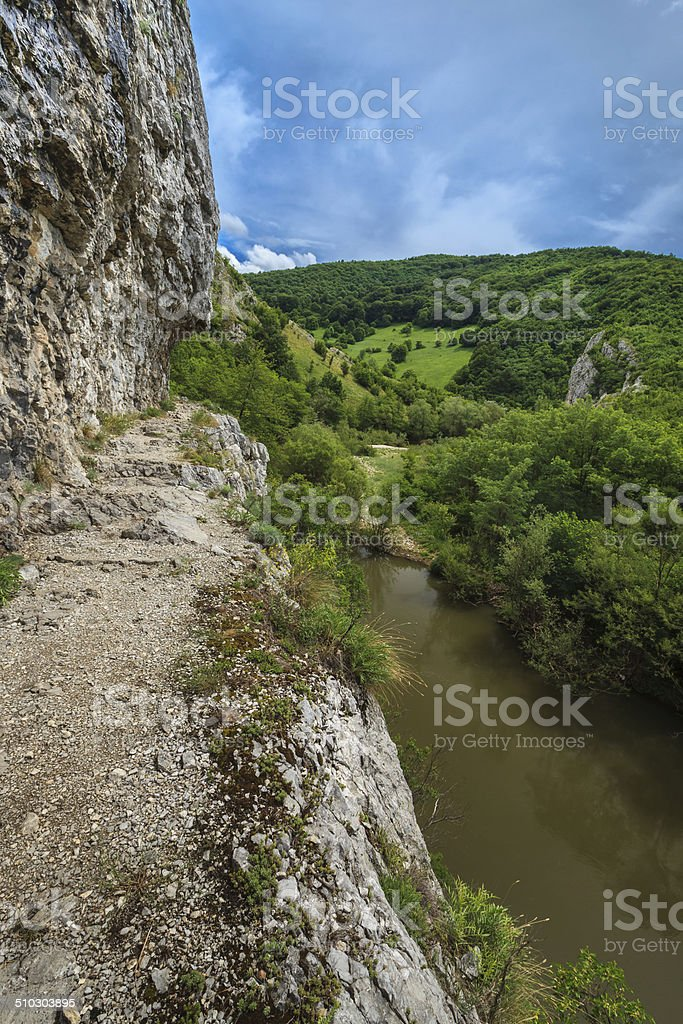 Gorge National Park Nerei- Beusnita, Romania stock photo