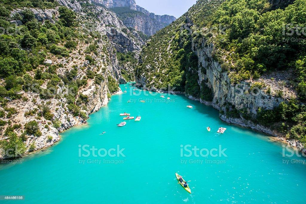 Gorge of Verdon stock photo