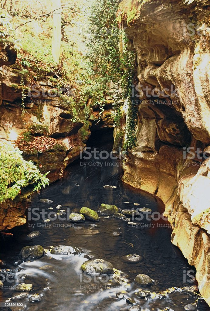 gorge stock photo