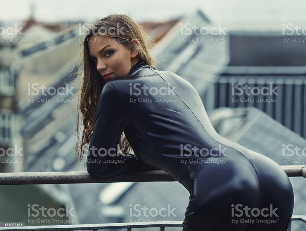 Gorgeous and deadly stock photo