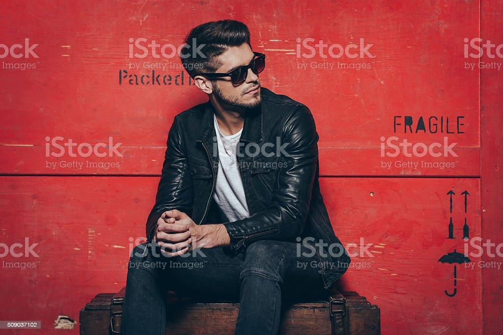 Gorgeous and stylish. stock photo