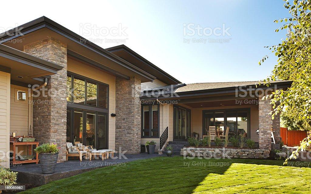 Gorgeous Backyard stock photo
