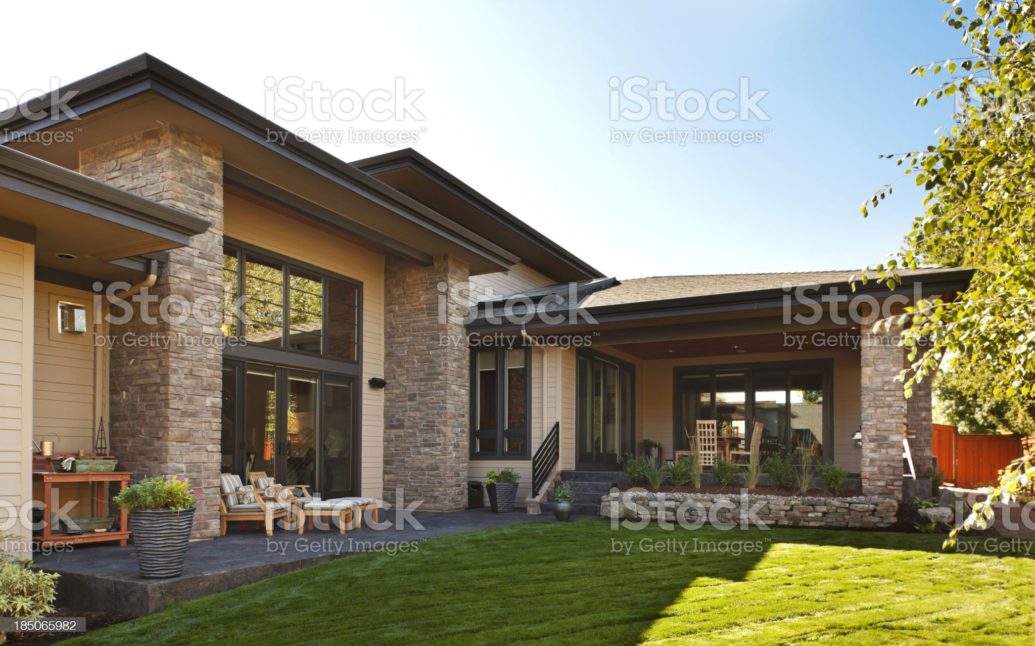 Gorgeous Backyard royalty-free stock photo