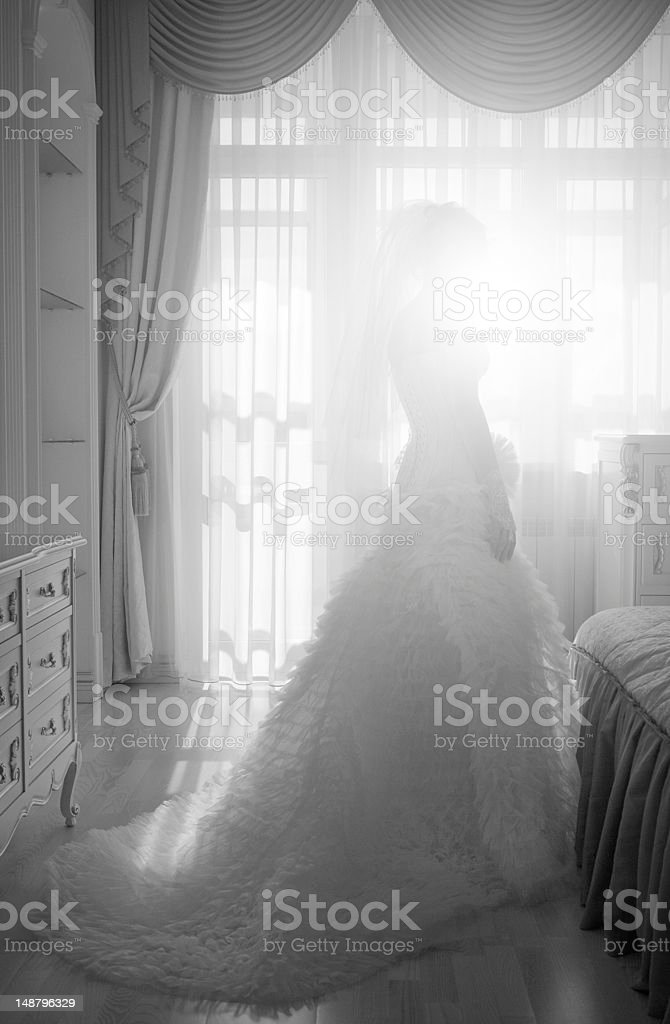 Magnifique Mariée photo libre de droits