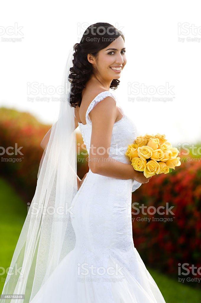 Gorgeous Bride royalty-free stock photo