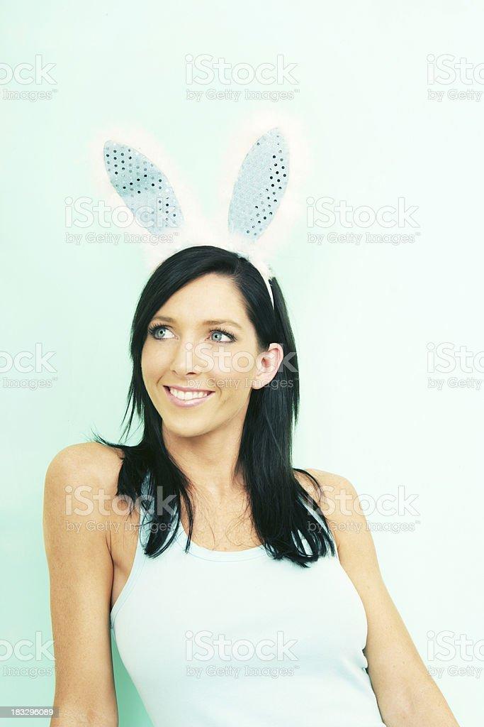 Gorgeous Bunny royalty-free stock photo