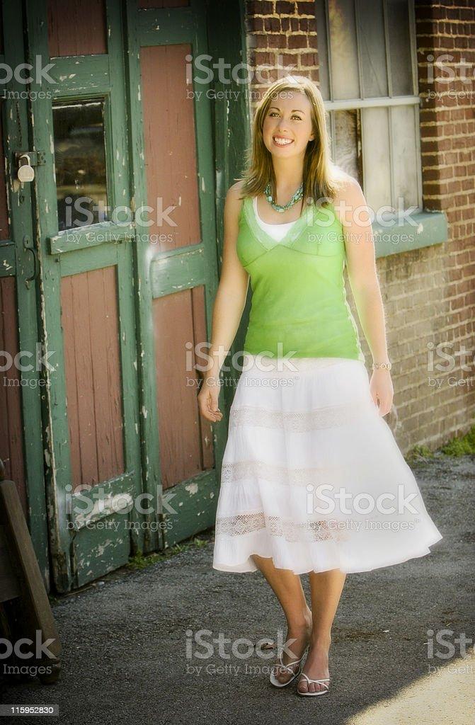 gorgeous girl portraits royalty-free stock photo