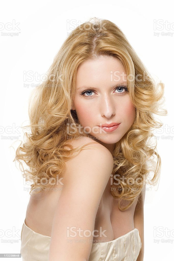 Gorgeous Hair royalty-free stock photo