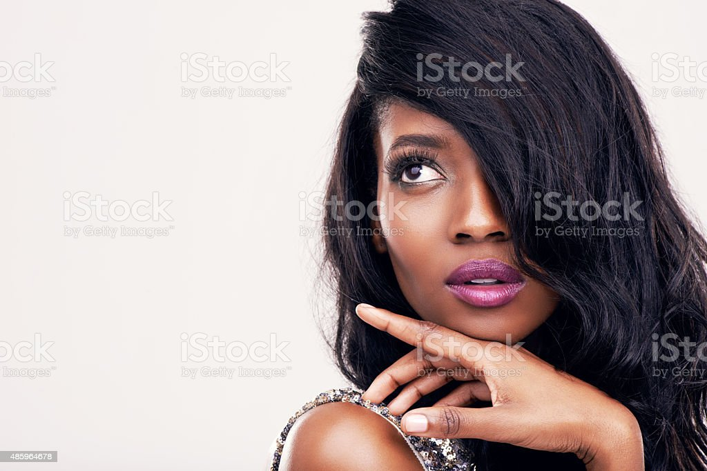 Gorgeous in every way stock photo