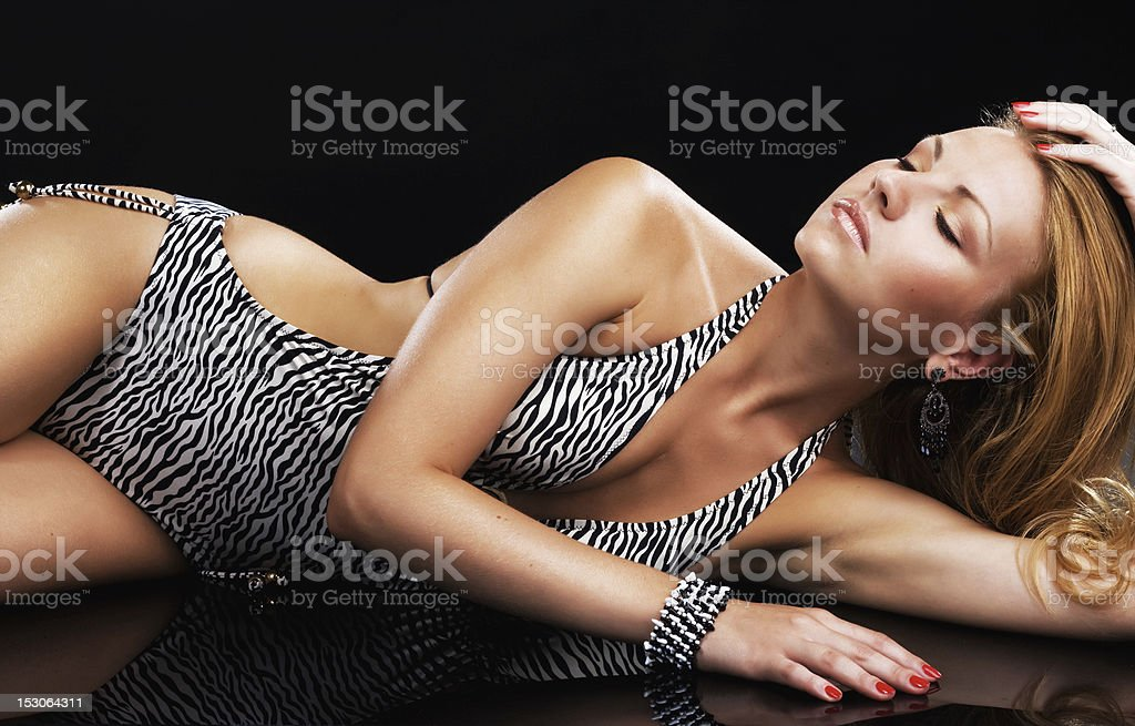 Gorgeous model royalty-free stock photo
