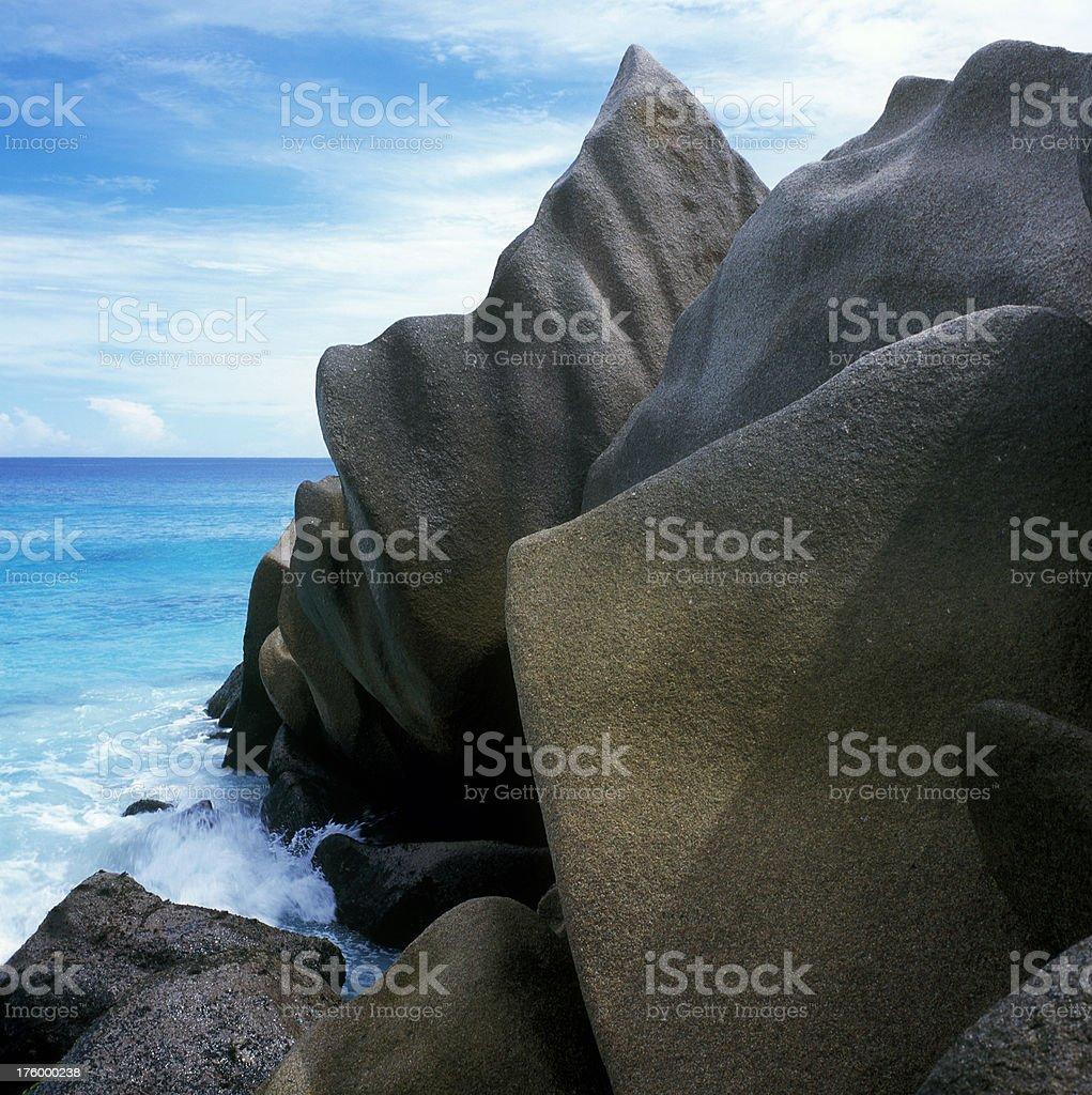 Gorgeous rocks royalty-free stock photo