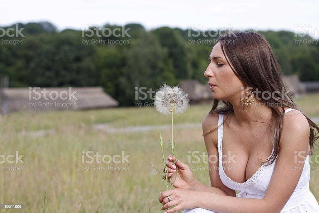 Gorgeous Sexy Brunette Girl stock photo